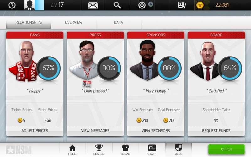 New Star Manager  2018